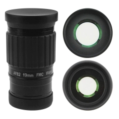 "Astromania 2""-82 Degree SWA-19mm compact eyepiece, Waterproof & Fogproof - allows any water enter the interior and enjoy an unobstructed view"