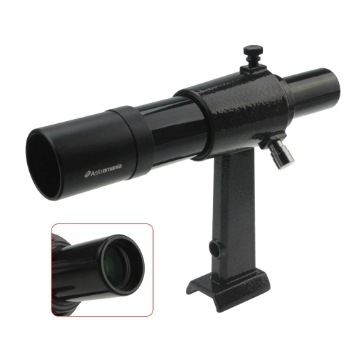 Astromania 6x30 Finder Scope, Black - allowing many astronomical objects to become visible to your eyes