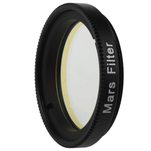 "Astromania 1.25"" Mars Observing Eyepiece Filter - Prepare for July's Opposition - Designed to ferret out resolution of Martian polar regions, highland"