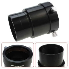 Astromania 2-Inch Telescope Eyepiece Extension Tube Adapter - Optical Length 50mm - With Standand 2-Inch Filter Threads