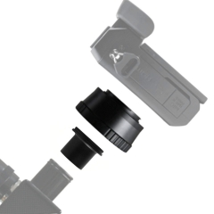 "Astromania T T2 Mount and M42 to 1.25"" Telescope Adapter (T-mount) for O lympus P anasonic M4 / 3 Cameras"