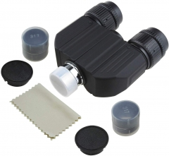 Astromania Stereo Bino Viewer with Two 32mm Plossl Eyepicecs-allow you to adapt two eyepieces to your telescope and view with both eyes simultaneously