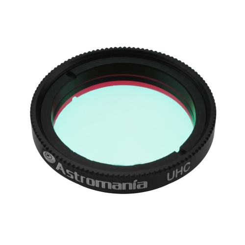 "Astromania 1.25"" UHC (Ultra High Contrast) Filter - superb views of the Orion, Lagoon, Swan and other extended nebulae"