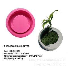 Bk 2028 circular ladder concrete cement silica gel mold