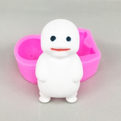 BK1088 Fat baby Soap silicone molds perfumed plaster mold