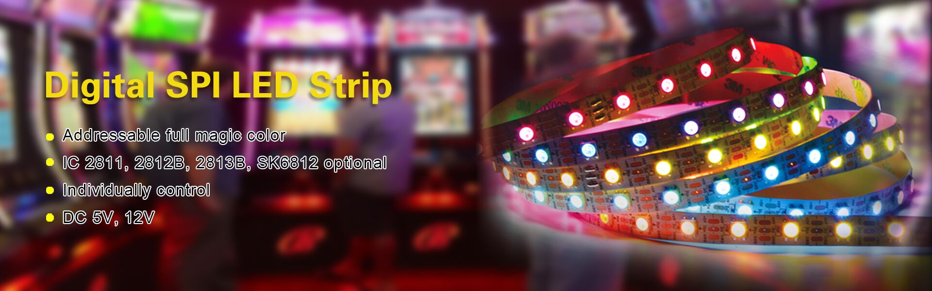 New product----Digital SPI LED Strip