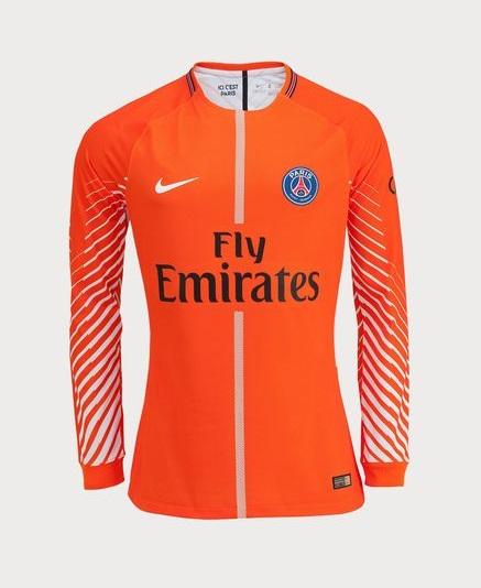 a5173092428 ... release date club jersey mens paris saint germain 2017 18 1 trapp long  sleeve goalkeeper soccer
