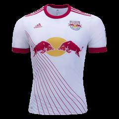 3f6e1a129d2 Men s 2018 MLS New York Red Bulls Away Soccer Jersey White