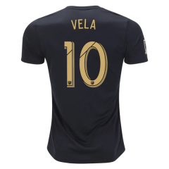 765b6162d08 Men s MLS  10 Vela LAFC 2018 Away Soccer Jersey Black Gold