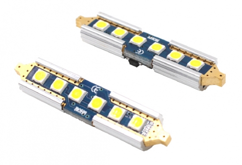 14K Gold SJ-39mm-6SMD-3030 LED Bulbs