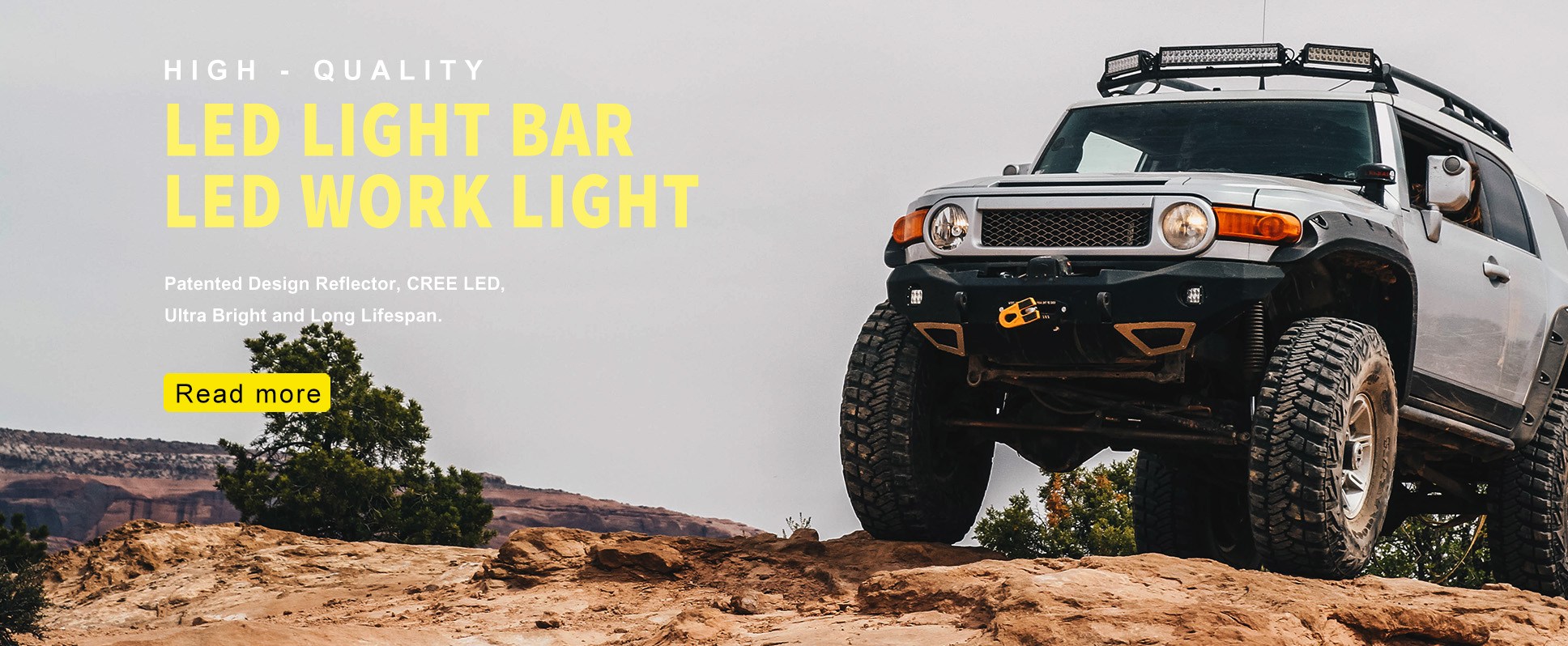LED Light Bar for Off Road & Truck