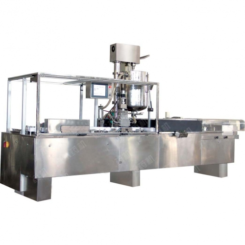 High Speed Suppository Form, Fill and Seal Machine