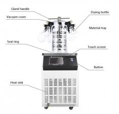 LPXZ10N Benchtop Laboratory Heating Function Lyophilizer Freeze Dryer