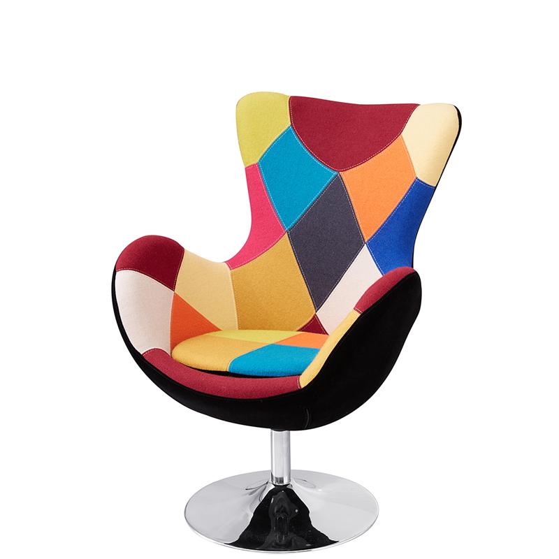 Moderne Skandinavische Design Patchwork Stühle