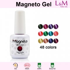 【MAGNETO GEL】MAGNETO Soak-off Gel Nail Polish 60 Color For Choose