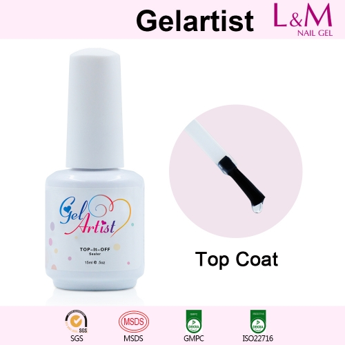 【TOP COAT】Gelartist Soak-off Gel Nail Polish