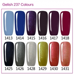 【color chart show only 】 IDO Gelish 290 Colors