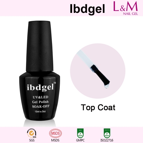 【TOP COAT】IBDGEL Soak-off UV Gel Nail Polish