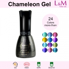 【CHAMELEON GEL】 Soak-off Gel Nail Polish 24 Color For Choose
