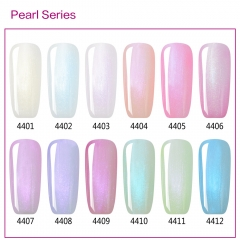 【color chart show only 】Pearl Gel