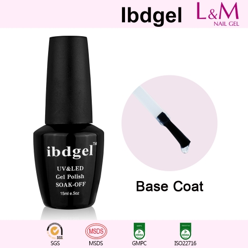 【BASE COAT】IBDGEL Soak-off UV Gel Nail Polish