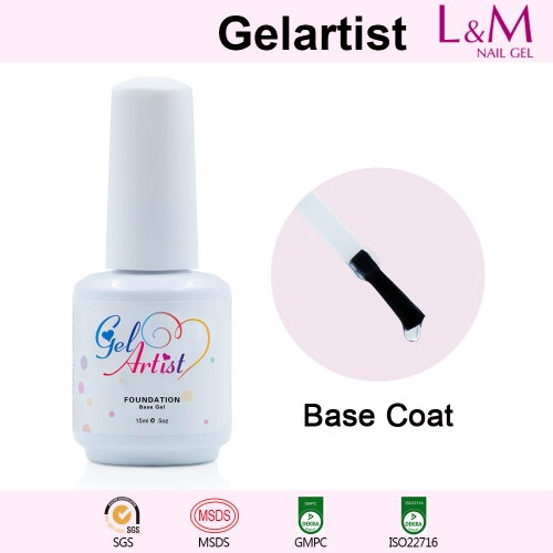 【BASE COAT】Gelartist Soak-off Gel Nail Polish