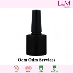 【OEM/ODM SERVICES】L&M Factory Soak-off Gel Nail Polish