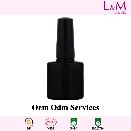 【OEM/ODM SERVICES】L&M Factory Soak-off Gel Nail Polish 7.3ml shellac