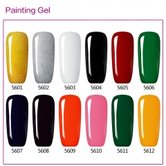 【color chart show only 】Painting Gel