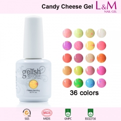 【CANDY CHEESE SERIES】IDO Gelish Candy Cheese Soak-off Gel Nail Polish
