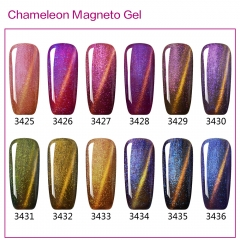 【color chart show only 】Chameleon Magneto Gel