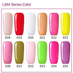 【color chart show only 】L&M 610 Colors