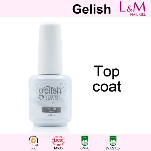 【TOP COAT】IDO Gelish Soak-off Gel Nail Polish