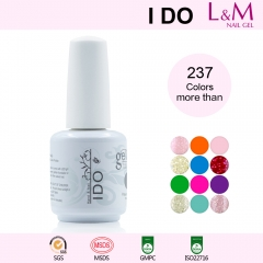 【Color Coat】IDO Gelish soak-off UV Gel Nail Polish 237 Colors For Choose