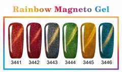 New Series Rainbow Magneto Gel