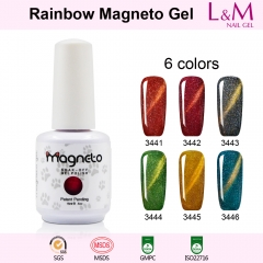 【Rainbow Magneto SERIES】Rainbow Magneto Series Soak-off Gel Nail Polish