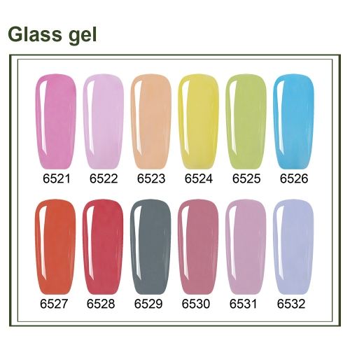 【color chart show】Glass Gel