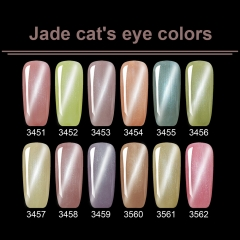 Jade Cat's Eye Colors