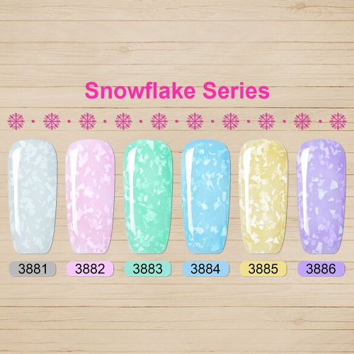 【color chart show】Snowfalke Series