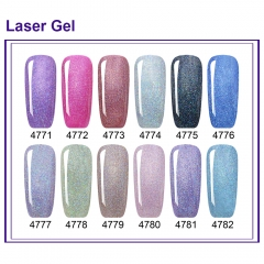【color chart show】 Laser Gel