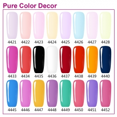 【color chart show】Pure Color Decor 53 Color