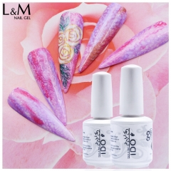 【Silk Gel】IDO UV Gel Polish New Arrival Soak off Nail Art Gel lacquer