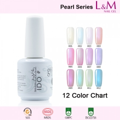 【PEARL SERIES】IDO Gelish Pearl Series Soak-off Gel Nail Polish