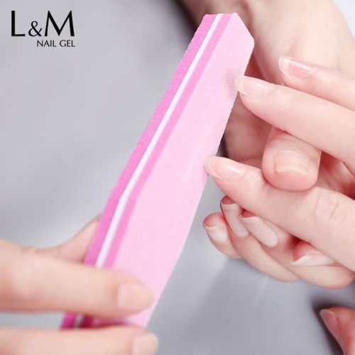 【Nail Tools Buffer File】Sponge-Manicure Nail-Files Sanding-Block Double-Sided