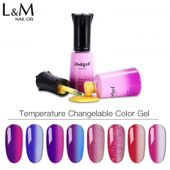 【Temperature Color Changing Gel Polish 】ibdgelTemperature Color Changeable UV Gel