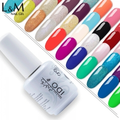 【Color Coat】IDO Gelish soak-off UV Gel Nail Polish  290 Colors For Choose