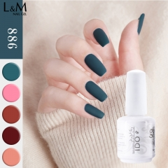 【Morandi Autumn Color Gel】IDO Gelish Soak-off Gel Nail Polish 36 Autumn Colors for choice