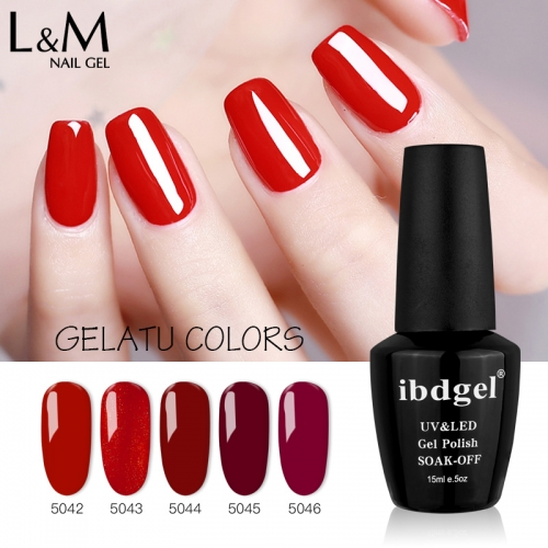 【Gelatu Color Gel】1pc UV Nail Gel Polish 120 Colors For Choose
