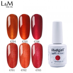 【Royal Red SERIES】ibdgel Royal Red Series Soak-off Gel Nail Polish