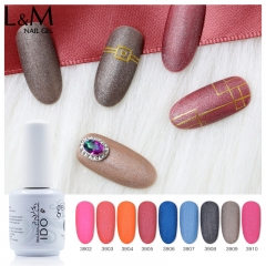 【VELVET SERIES】IDO Gelish Velvet Series Soak-off Gel Nail Polish